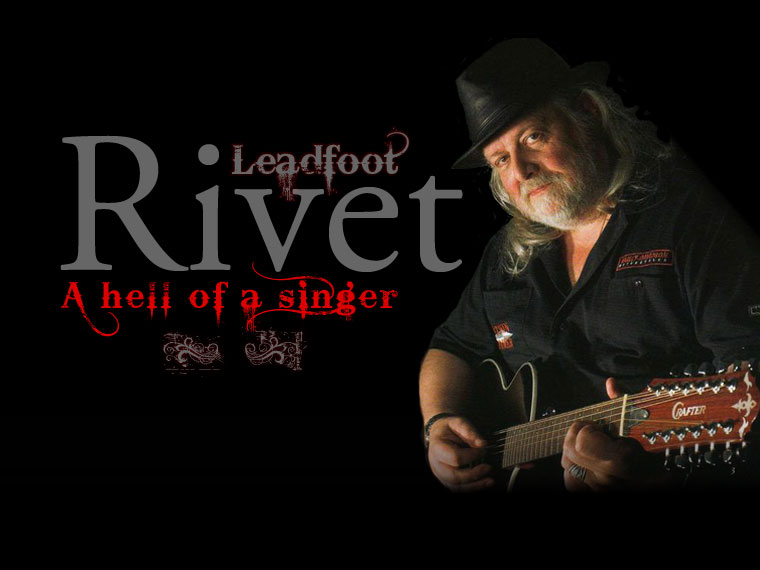 Leadfoot Rivet photographié par Patricia de Grostarzu - Leadfoot Rivet - A hell of a singer !